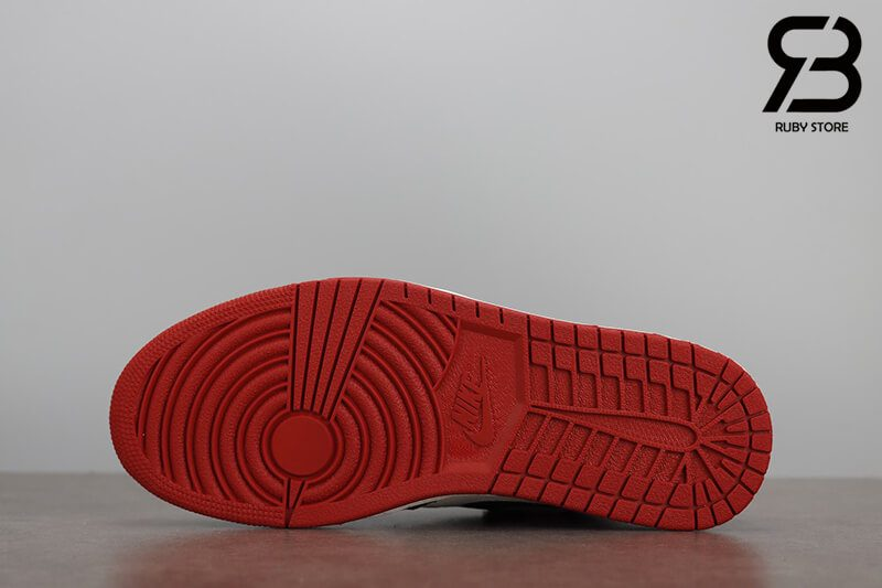 giày nike air jordan 1 high og retro bred toe siêu cấp