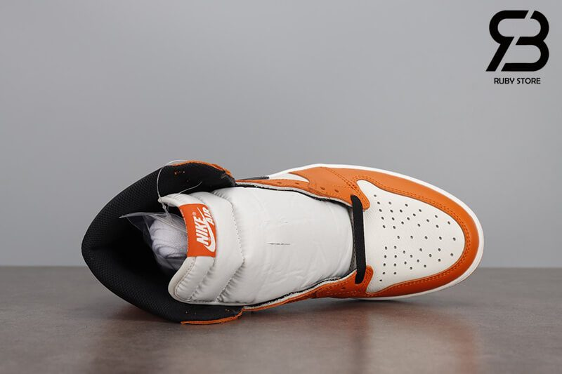 giày nike air jordan 1 high og retro sail starfish black siêu cấp