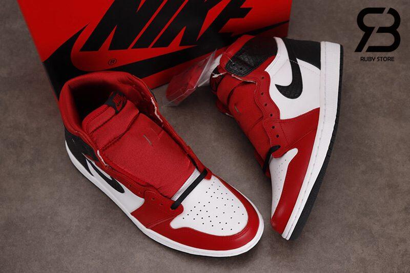 giày nike air jordan 1 high og retro satin snake chicago wmns siêu cấp