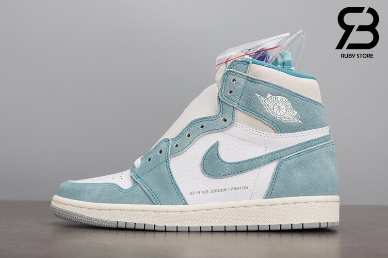 giày nike air jordan 1 retro high og turbo green siêu cấp