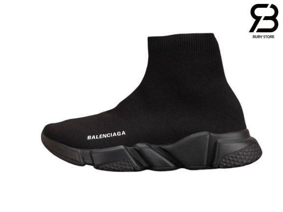 Giày Balenciaga Speed Trainer Đen Full Siêu Cấp