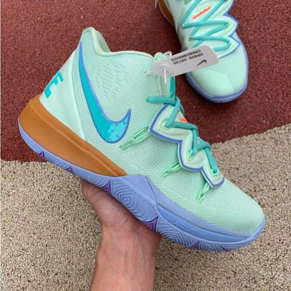 "Nike Kyrie 5 x Nickelodeon ""Squidward Tentacles"""
