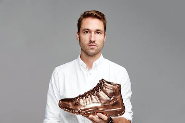 Solid Gold OVO x Air Jordans