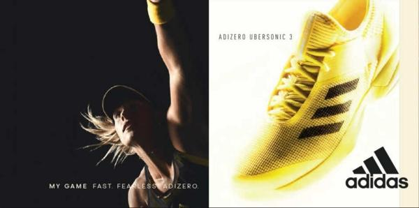 Giày tennis nữ Adidas adizero ubersonic 3