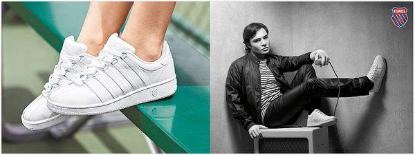 Giày văn hóa tennis K-Swiss Classic