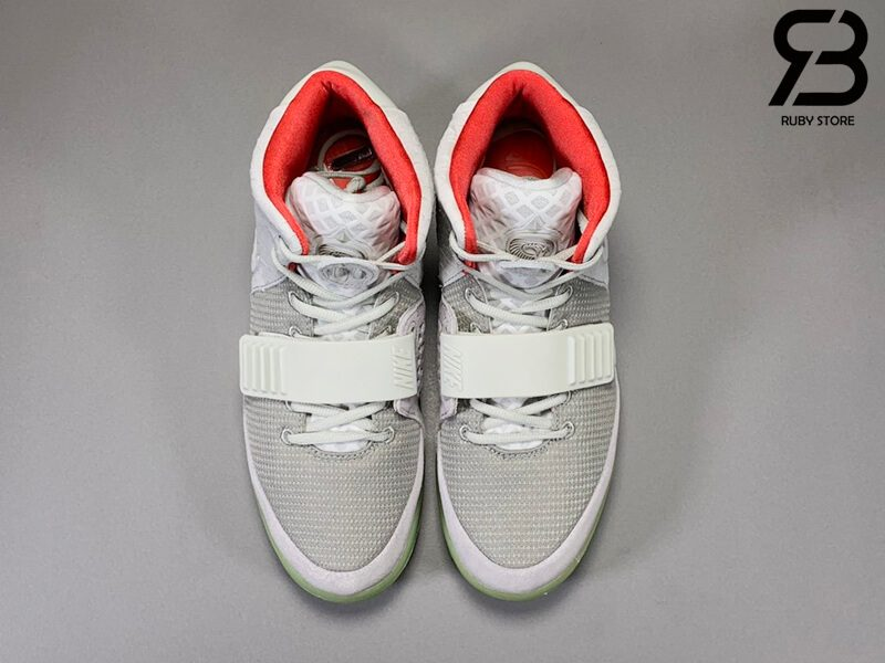 giày nike air yeezy 2 pure platinum siêu cấp