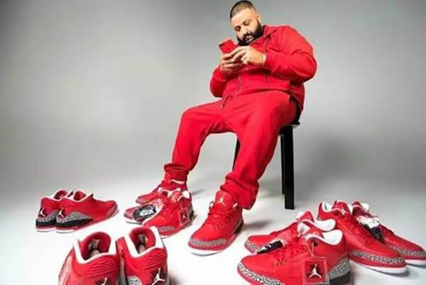 DJ Khaled x Air Jordan 3 'Grateful' - 25.000 USD
