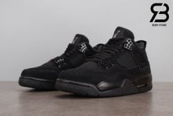 Giày Nike Air Jordan 4 Retro Black Cat Siêu Cấp