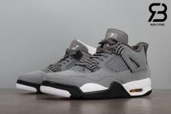 Giày Nike Air Jordan 4 Retro Cool Grey Siêu Cấp