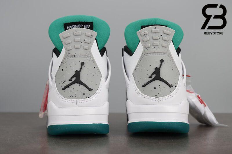 Giày Nike Air Jordan 4 Retro Lucid Green Rasta Siêu Cấp