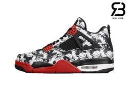 Giày Nike Air Jordan 4 Retro Tattoo Siêu Cấp