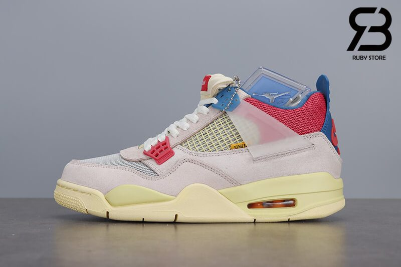 Giày Nike Air Jordan 4 Retro Union Guava Ice Siêu Cấp