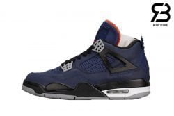 Giày Nike Air Jordan 4 Retro Winterized Loyal Blue Siêu Cấp
