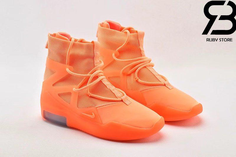 Giày Nike Air Fear Of God 1 Orange Pulse Siêu Cấp