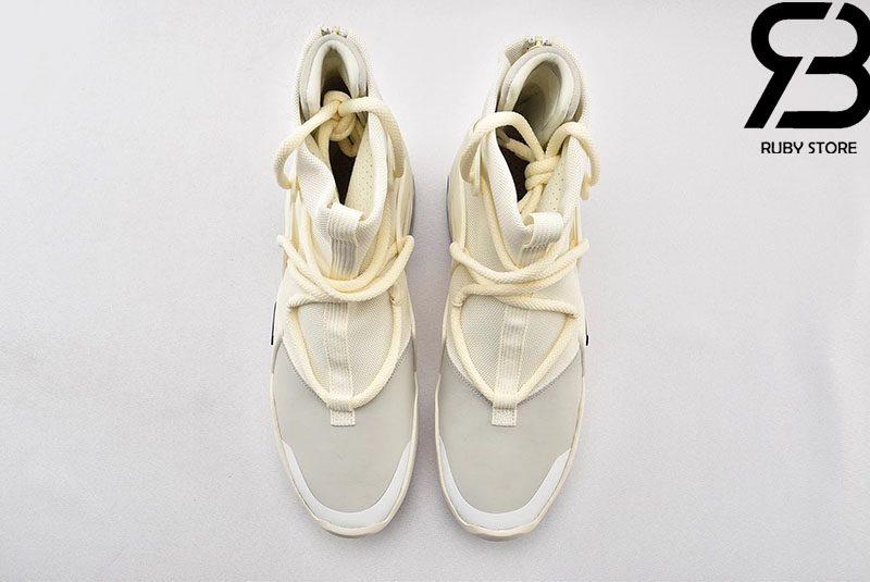 Giày Nike Air Fear Of God 1 Sail Black Siêu Cấp