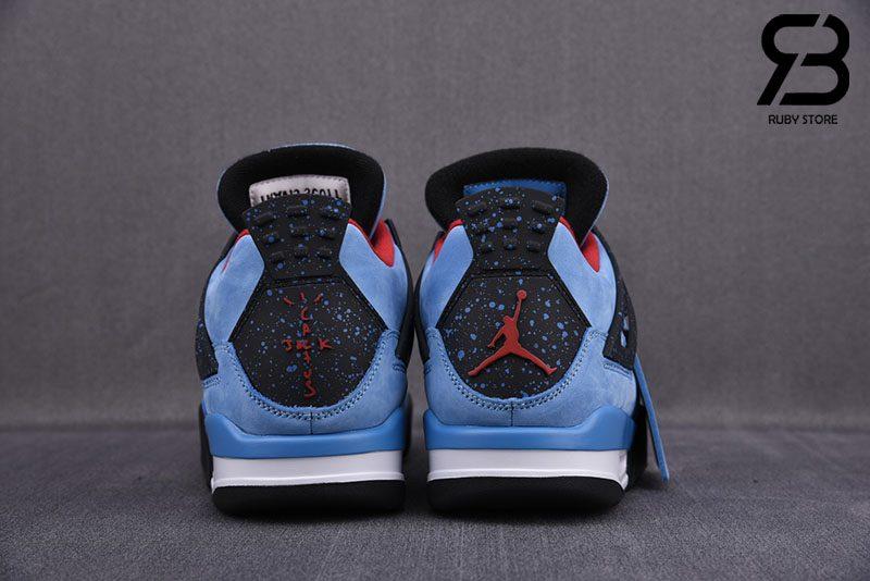 Giày Nike Air Jordan 4 Retro Travis Scott Cactus Jack Siêu Cấp