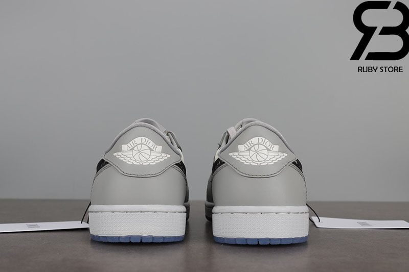 Giày Nike Air Jordan 1 x Dior Low Siêu Cấp Like Authentic 99%