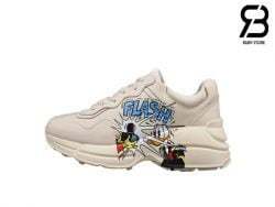 Giày Disney x Gucci Donald Duck Rhyton Sneaker Best Quality
