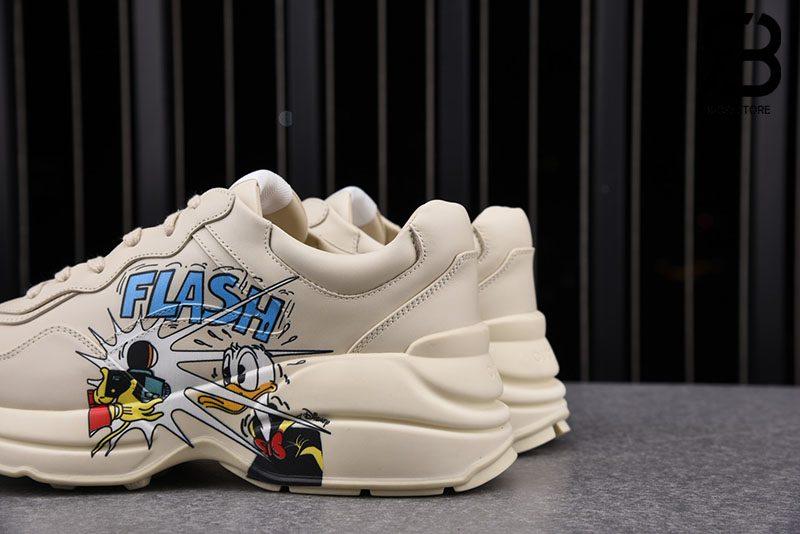 Giày Disney x Gucci Donald Duck Rhyton Sneaker Best Quality