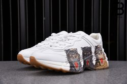 Giày Gucci Rhyton Triple Tiger Print Sneakers Best Quality