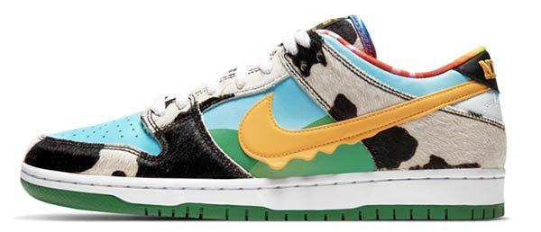 Ben & Jerry's x Nike SB Chunky Dunky