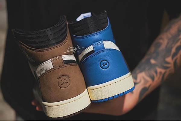 Giày Travis Scott x Fragment x Air Jordan 1 giá bao nhiêu?