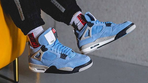 "Air Jordan 4 Retro ""University Blue"""
