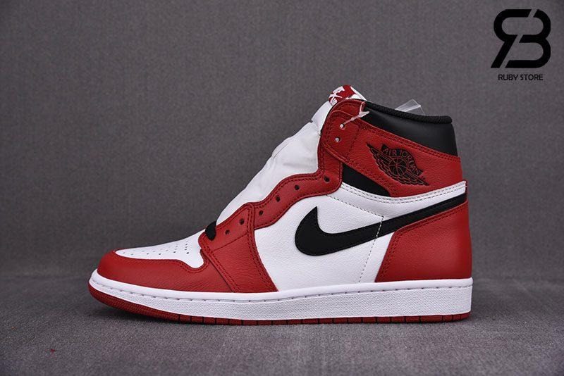 Giày Nike Air Jordan 1 Retro High Chicago Siêu Cấp