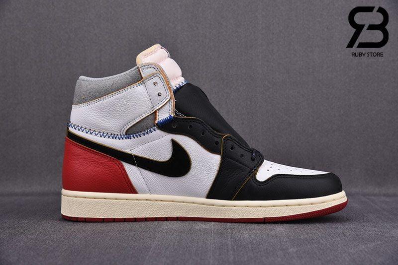 Giày Nike Air Jordan 1 Retro High Union Los Angeles Black Toe Siêu Cấp