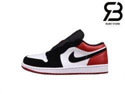 Giày Air Jordan 1 Low Black Toe Siêu Cấp
