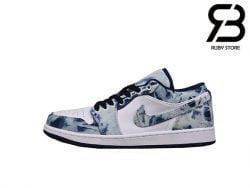 Giày Air Jordan 1 Low SE Washed Denim Siêu Cấp
