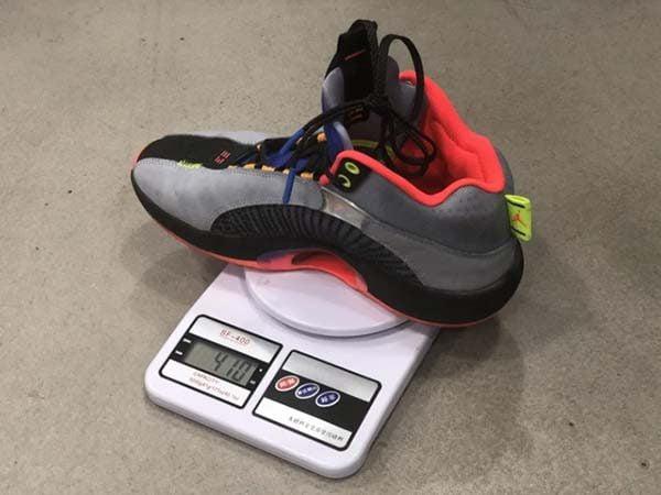 Air Jordan 35 chỉ nặng 410 gram