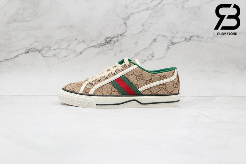 Giày Gucci Tennis 1977 Beige Best Quality Like Auth 99%