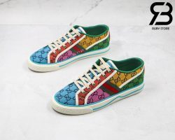 Giày Gucci Tennis 1977 GG Multicolor Best Quality Like Auth 99%