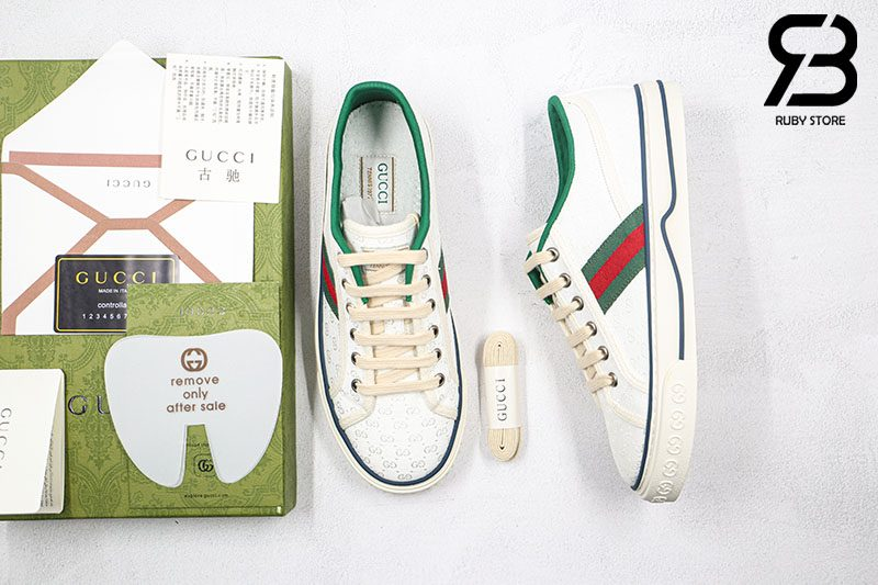 Giày Gucci Tennis 1977 Trắng Best Quality Like Auth 99%