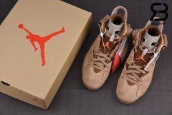 Giày Air Jordan 6 Retro Travis Scott British Khaki Siêu Cấp