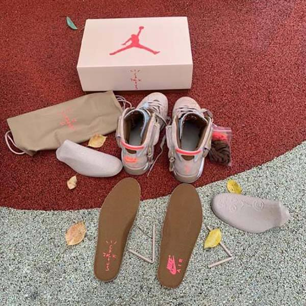 Travis Scott x Air Jordan 6 British Khaki