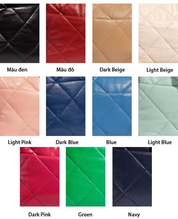 Màu sắc túi Chanel 19