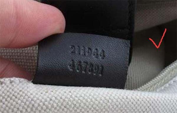 Serial Number trên túi