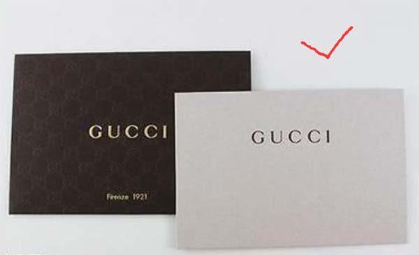 Firenze Card trên túi Gucci