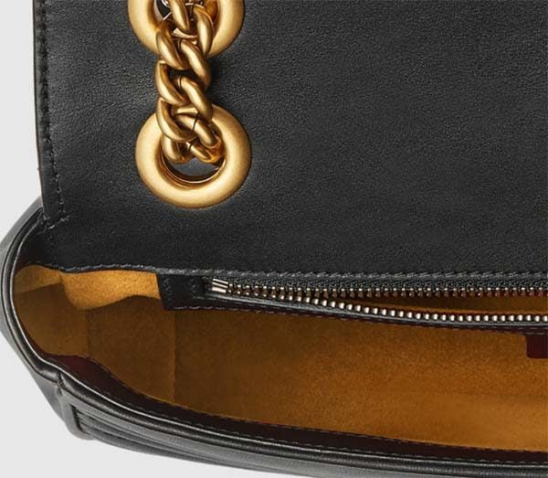 Chất da trên túi Gucci authentic