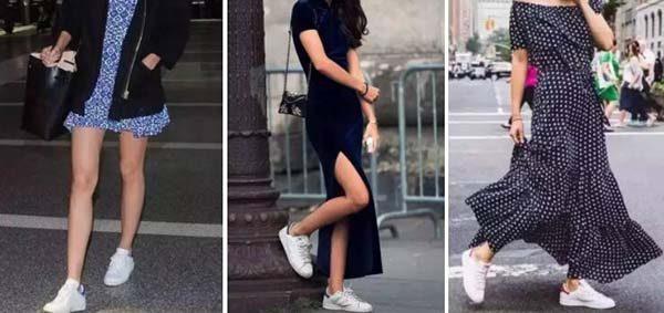 giày Alexander Mcqueen kết hợp váy
