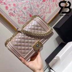 Túi Chanel Boy Pearl 25cm Best Quality Like Auth 99%