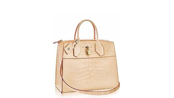 Crocodile Skin City Steamer - chiếc túi Louis Vuitton đắt thứ 3