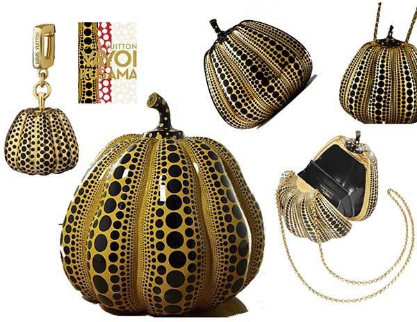 The Kusama Pumpkin Minaudiere Jewel Bag - chiếc túi LV đắt nhất mọi thời đại