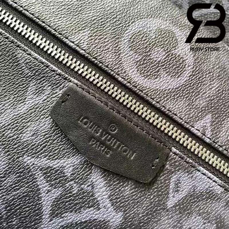 Ba Lô LV Discovery Backpack PM Monogram Pastel Noir Best Quality