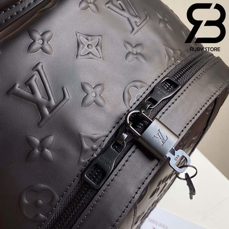 Ba Lô LV Armand Backpack Other Leathers in Black Best Quality