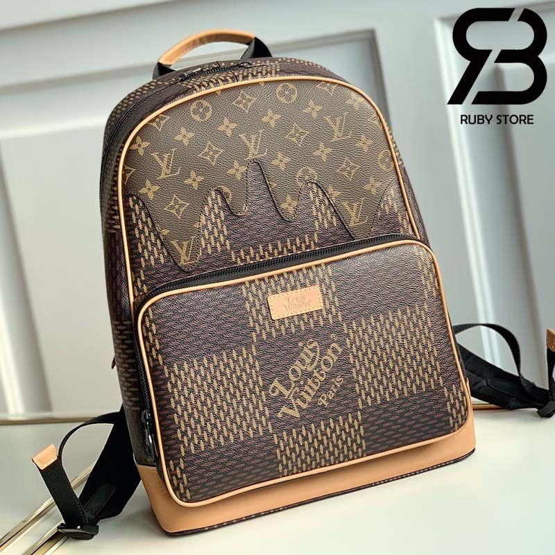 Ba Lô LV Campus Backpack in Brown Best Quality