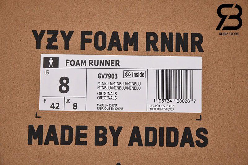 Giày Yeezy Foam RNNR Mineral Blue Xanh Đen Siêu Cấp