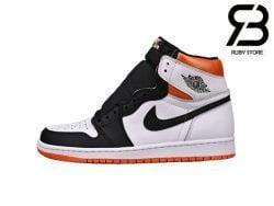 Giày Jordan 1 Retro High Electro Orange Siêu Cấp